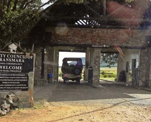 Masai Mara Park entry fees